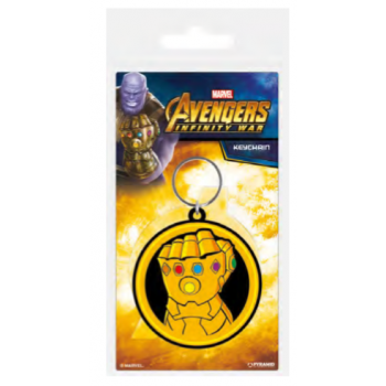 Pyramid Rubber Keychains - Avengers: Infinity War (Infinity Gauntlet)