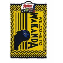 Pyramid Door Mats - Black Panther (Welcome To Wakanda)