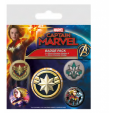 Pyramid Badge Packs - Captain Marvel (Patches)