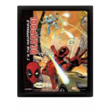Pyramid 3D Lenticular Poster - Deadpool (Attack) (3 Posters)