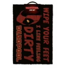 Pyramid Door Mats - Deadpool (Dirty)
