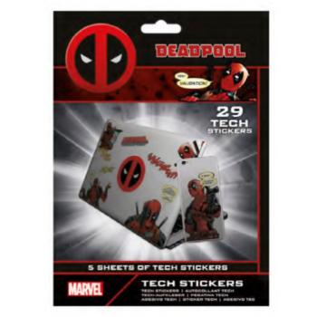 Pyramid Tech Sticker Packs - Deadpool (Merc With A Mouth)
