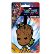 Pyramid Luggage Tags - Guardians Of The Galaxy Vol. 2 (I Am Groot)