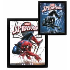 Pyramid 3D Lenticular Poster - Marvel (Spiderman / Venom) (3 Posters)