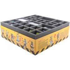 Foam tray value set for Zombicide Toxic City Mall Box