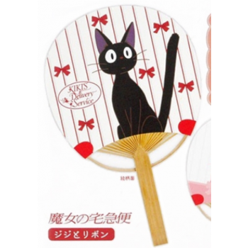 Ghibli - Kiki's Delivery Service - Fan Jiji & Ribbon