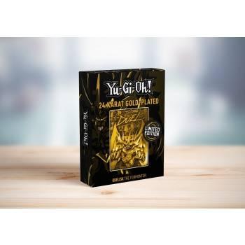YuGiOh! Limited Edition 24K Gold Metal God Card Obelisk the Tormentor