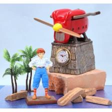 Ghibli - Porco Rosso - Table Clock Fio Piccolo