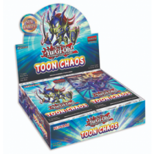 YGO - Toon Chaos - Booster Display (24 Packs) Unlimited Reprint