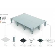 AdapTableTop modular system for boardgames (silver)