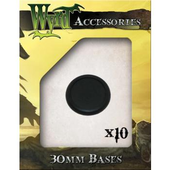 30mm Premium Plastic Bases (10 pack)
