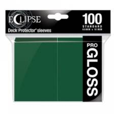 UP - Standard Sleeves - Gloss Eclipse - Forest Green (100 Sleeves)