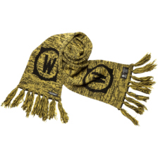 World of Warcraft Alliance Fringed Scarf