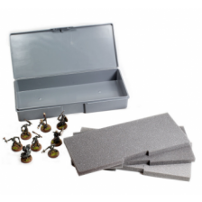 Chessex Figure Carrying Case with 3 Uncut Foam Layers