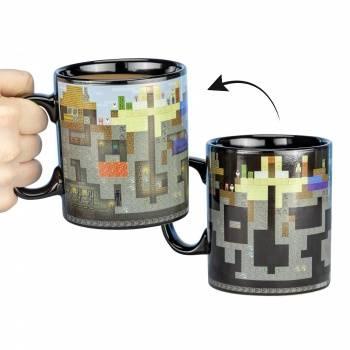 Minecraft - XL Heat Change Mug