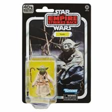 40TH ANNIVERSARY Star Wars The Black Series Yoda Toy Action Figure