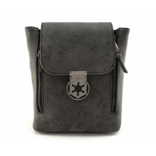 Star Wars Blk Metal Closure Convertible Backpack