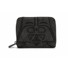 Star Wars Blk Vader Zip Around Wallet