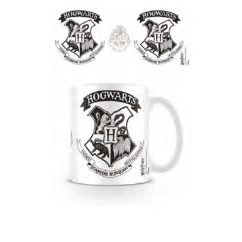 Pyramid Everyday Mugs - Harry Potter (Hogwarts Crest Black)