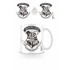 Pyramid Everyday Mugs - Harry Potter (Hogwarts Crest Black)