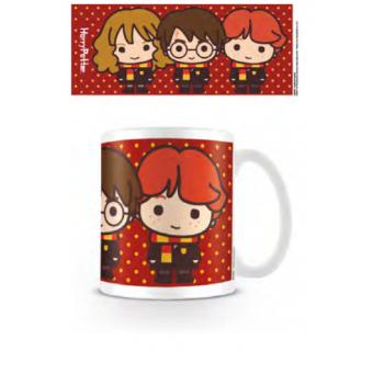 Pyramid Everyday Mugs - Harry Potter (Harry Ron Hermione Chibi)
