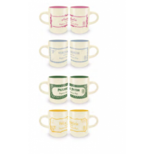 Pyramid Espresso Mug Sets - Harry Potter (Potions Collection)