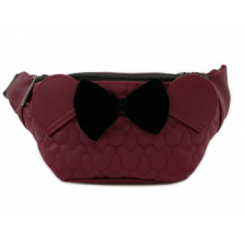 MICKEY MOUSE FAUX LEATHER FANNY PACK