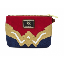 WONDER WOMEN FAUX LEATHER WRISTLET