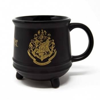 Pyramid Shaped Mugs - Harry Potter (Hogwarts Crest)