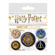 Pyramid Badge Packs - Harry Potter (Hogwarts)