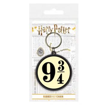 Pyramid Rubber Keychains - Harry Potter (Platform 9 & ?)