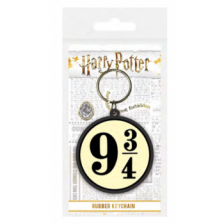 Pyramid Rubber Keychains - Harry Potter (Platform 9 & ?)