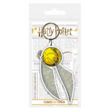 Pyramid Rubber Keychains - Harry Potter (Snitch)