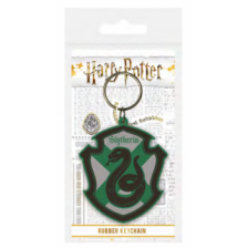 Pyramid Rubber Keychains - Harry Potter (Slytherin)
