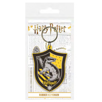 Pyramid Rubber Keychains - Harry Potter (Hufflepuff)