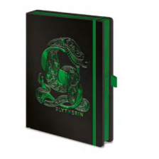 Pyramid Premium A5 Notebooks - Harry Potter (Slytherin Foil)