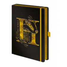 Pyramid Premium A5 Notebooks - Harry Potter (Hufflepuff Foil)