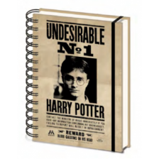 Pyramid A5 Wiro Notebook - Harry Potter (Sirius & Harry) 3D Cover