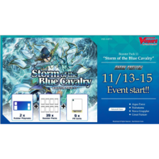 Cardfight!! Vanguard - Storm of the Blue Cavalry Sneak Preview Kit