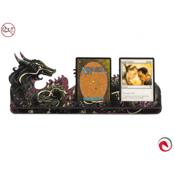 e-Raptor Card Holder L Dragon FullPrint Red