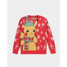 Pok?mon - Knitted Christmas Jumper - XL