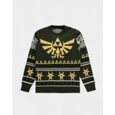 Zelda - Knitted Christmas Jumper - L