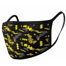 Pyramid Face Masks - Batman (Camo Yellow) (2)