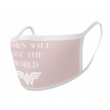 Pyramid Face Masks - Wonder Woman (Save the World) (2)