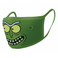 Pyramid Face Masks - Rick & Morty (Pickle Rick) (2)