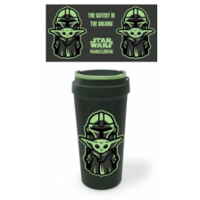 Pyramid Eco Mugs - Star Wars: The Mandalorian (The Cutest In The Galaxy)