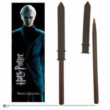 Harry Potter - Draco Malfoy Wand Pen & Bookmark