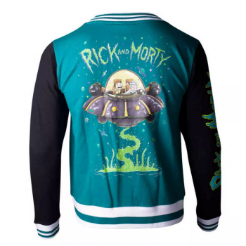 Rick and Morty - Space Travel Women's Varsity Jacket