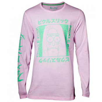 Rick and Morty - Japan Pickle Men's Longsleeve