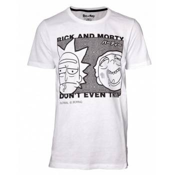 Rick and Morty - Don't Even Trip Men's T-shirt